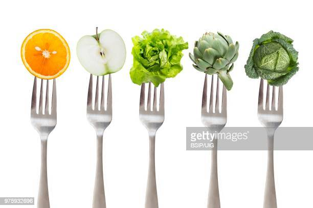 5 fruit and vegetables.