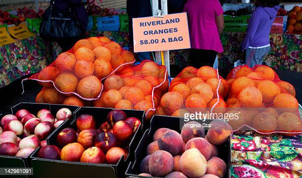fruit at farmers market in barossa valley - barossa valley stock pictures, royalty-free photos & images