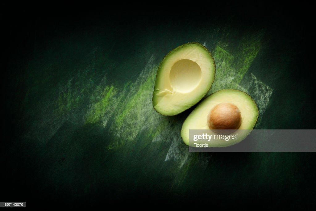 Obst: Avocado Stillleben : Stock-Foto