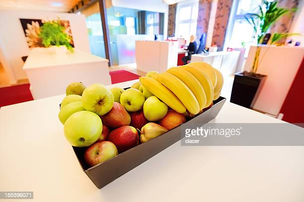Obstkorb im Büro