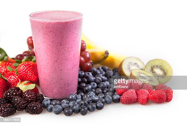 Fruit, berry smoothie