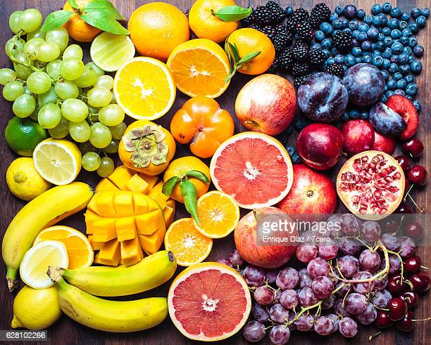 fruit board 1 - fruit stock pictures, royalty-free photos & images