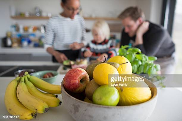 Fruit Bowl Stock Photos And Pictures