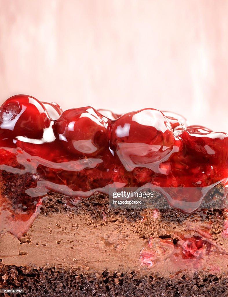 fruit cake detail : Stock Photo