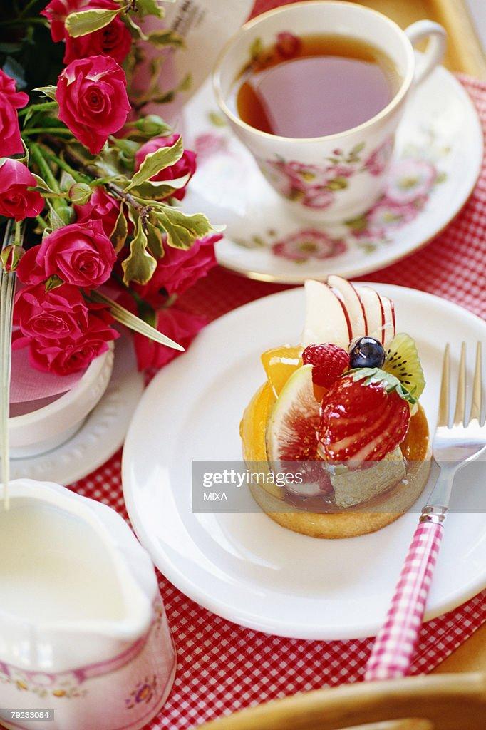 Fruit cake : Stock Photo