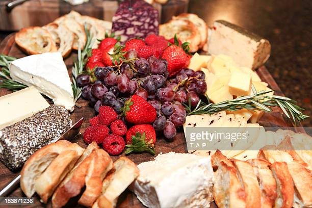 Fruit Cheese platter