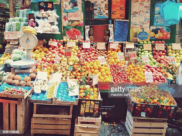 fruit market, naples (italy)