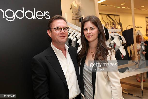 Fruit of the Loom Senior Vice President of Advertising and Communications John Shivel and Celebrity stylist Leslie Fremar attend the Glamour and...