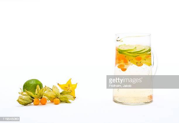 Fruit punch in jug