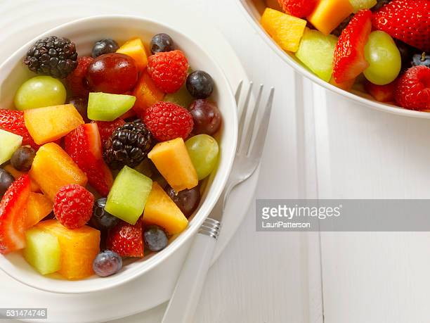 fruit salad - cross section stock pictures, royalty-free photos & images