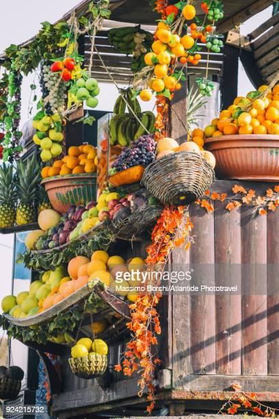 Fruit seller kiosk