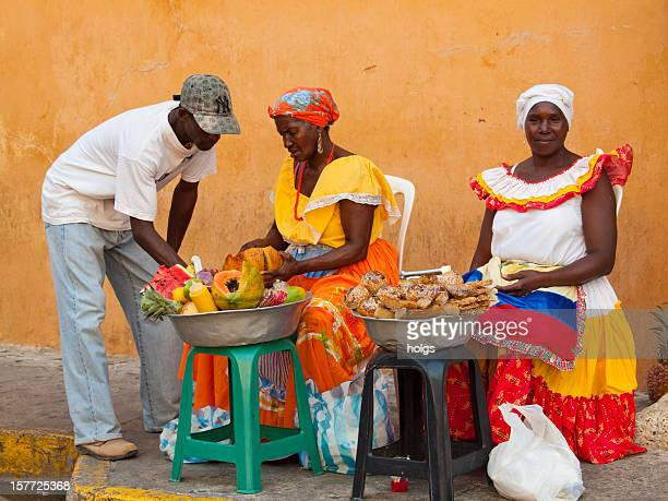 Fruit sellers, Cartagena, Colombia