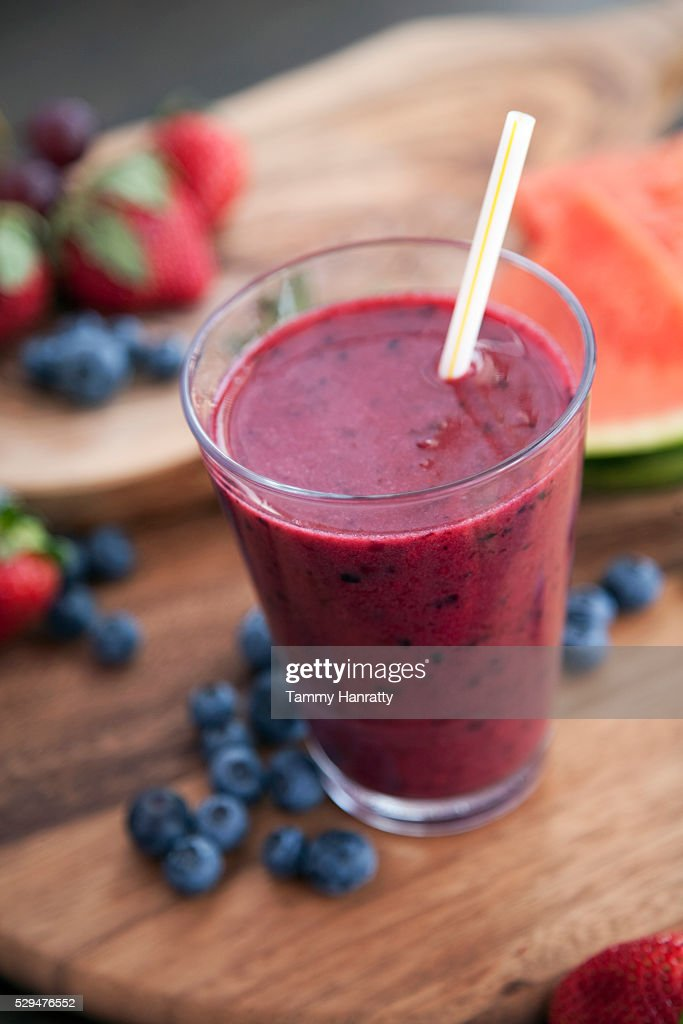 Fruit smoothie : Foto stock