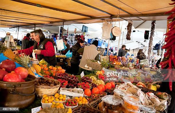 Fruit stall at Campo dei Fiori