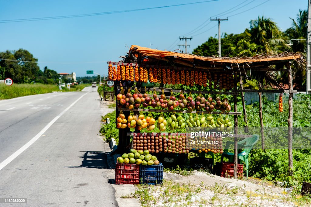 Fruit Stand : Stock Photo
