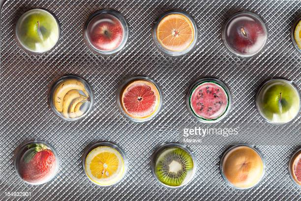 Obst-Tablets