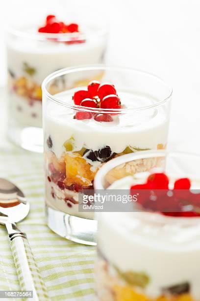 Fruit Trifle Dessert