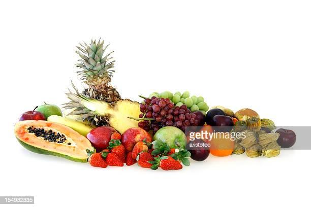 Fruit Variation Isolated on White Background