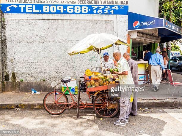 Fruit Vendor in Santo Domingo