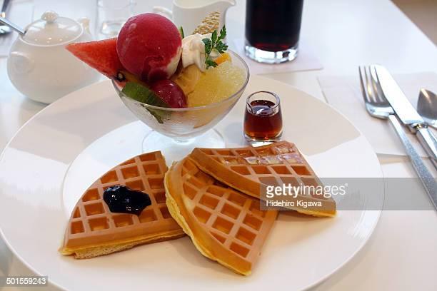 Fruit Waffle Plate