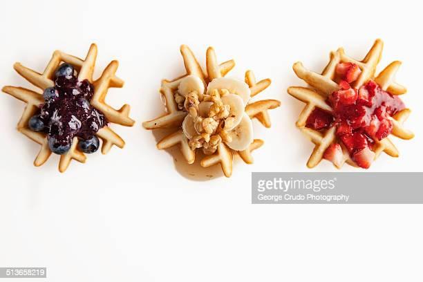 Fruit Waffles