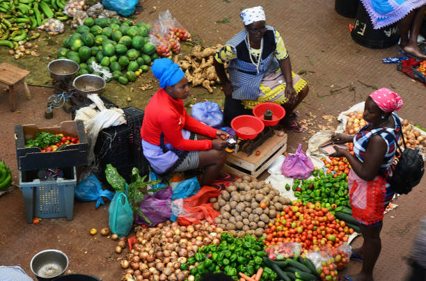 Fruits and vegetables ,Market , Cabo verde