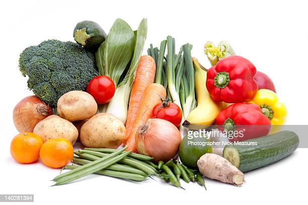 fruits and vegetables - freshness stock pictures, royalty-free photos & images