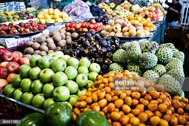 fruits at market - cali colombia stock pictures, royalty-free photos & images