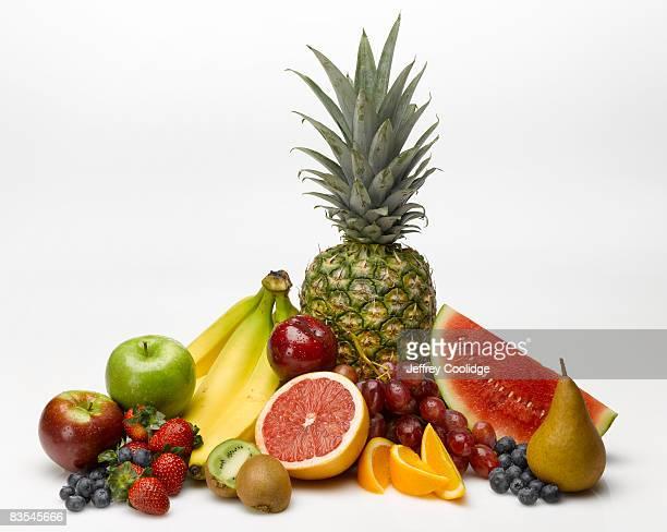 fruits food group still life - 果実 ストックフォトと画像