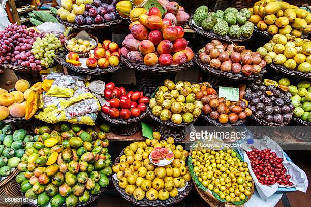 Fruits For Sale At Market