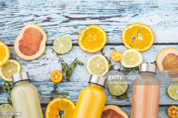fruit's juice - immune system stock pictures, royalty-free photos & images