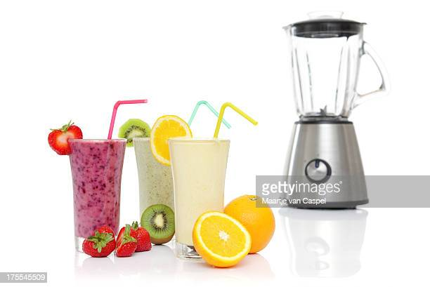 Fruits Smoothies with Blender