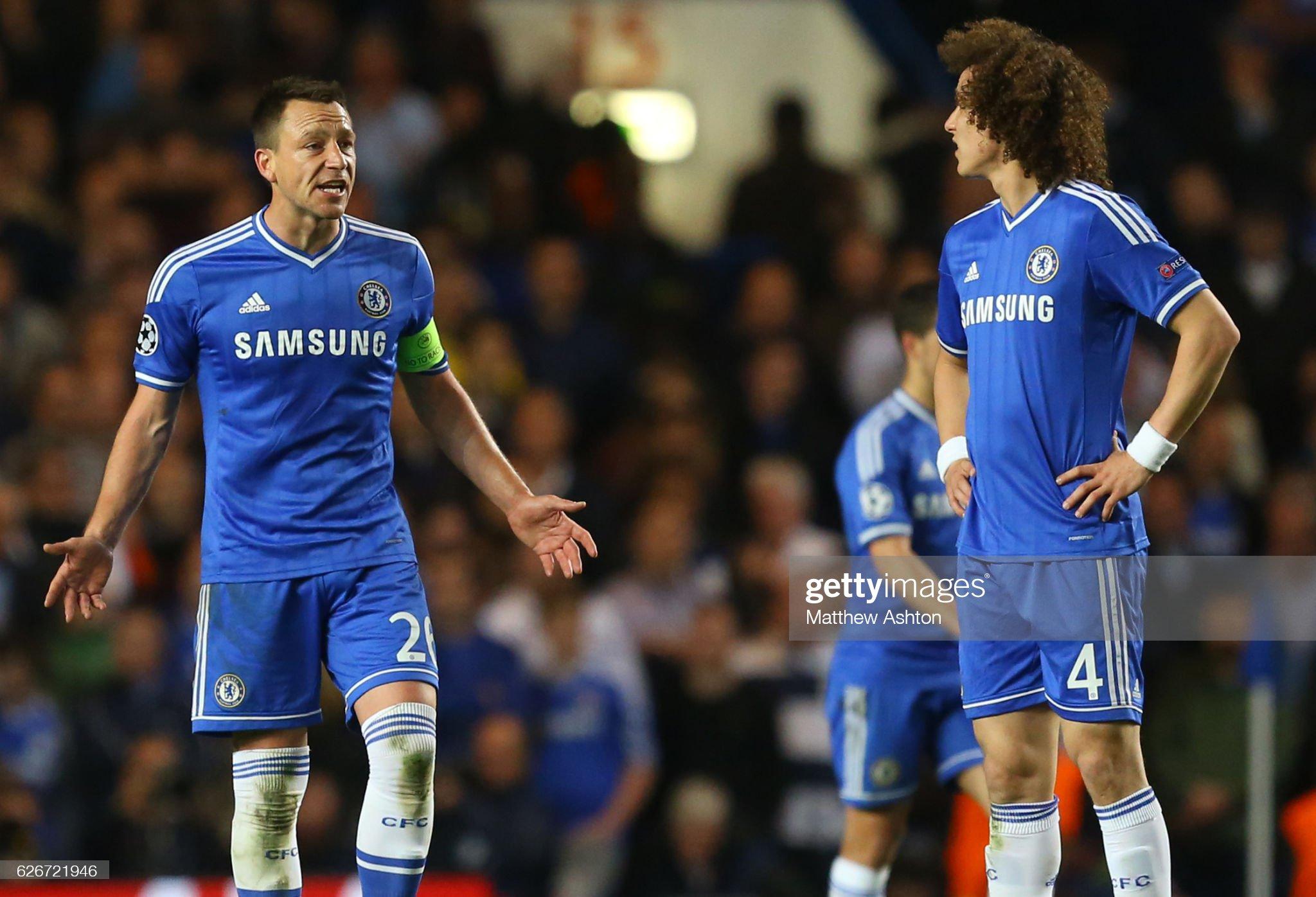 Soccer : UEFA Champions League semi-final 2nd Leg - Chelsea v Atletico Madrid : News Photo