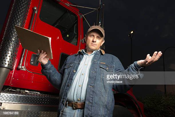 Frustrated Truck Driver