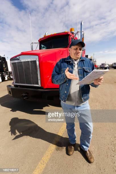 Frustrated Trucker