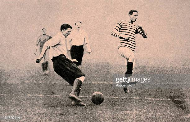 CB Fry playing football for the Corinthians against Queens Park in Glasgow 1902 Charles Burgess Fry was one of the greatest allround sportsmen of his...