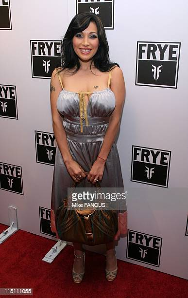 Frye Fashion event in Hollywood United States on October 22 2005 Kendra Jade at the Frye Fashion event at Vine Street Lounge