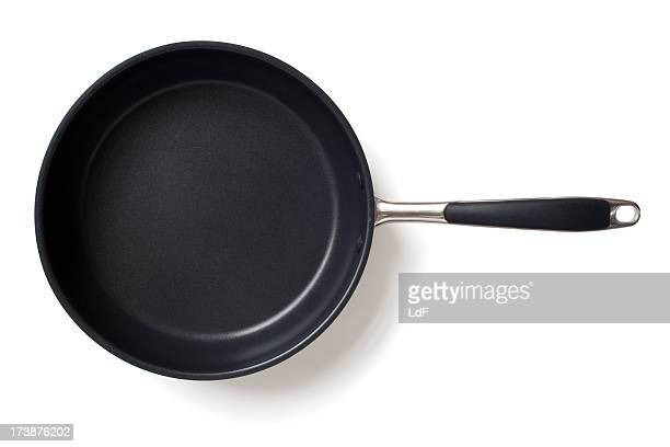 Frying pan isolated on white