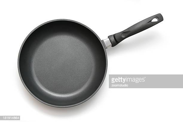 frying pan, skillet - frying pan stock pictures, royalty-free photos & images