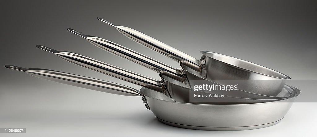 Frying pans : Stock Photo