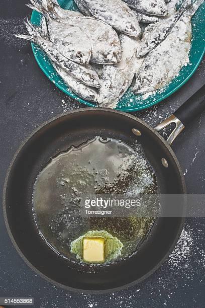 Frying Sardines