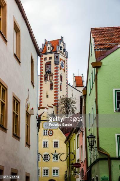 füssen - periodo medievale stock pictures, royalty-free photos & images