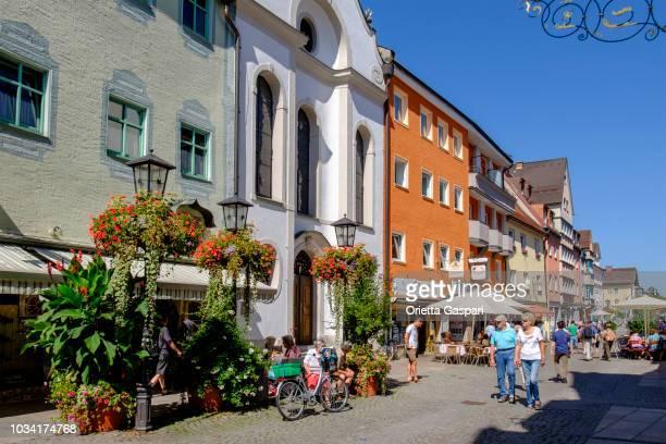 Füssen, Reichenstraße (Bavaria, Germany)
