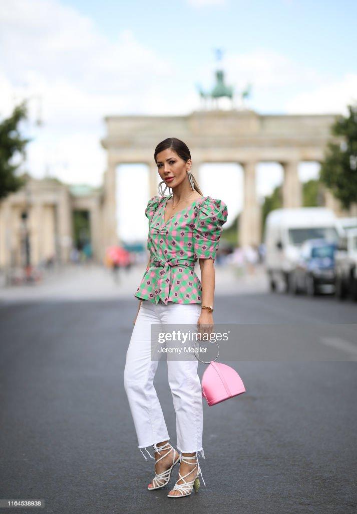 Street Style - Berlin - July 3, 2019 : Photo d'actualité