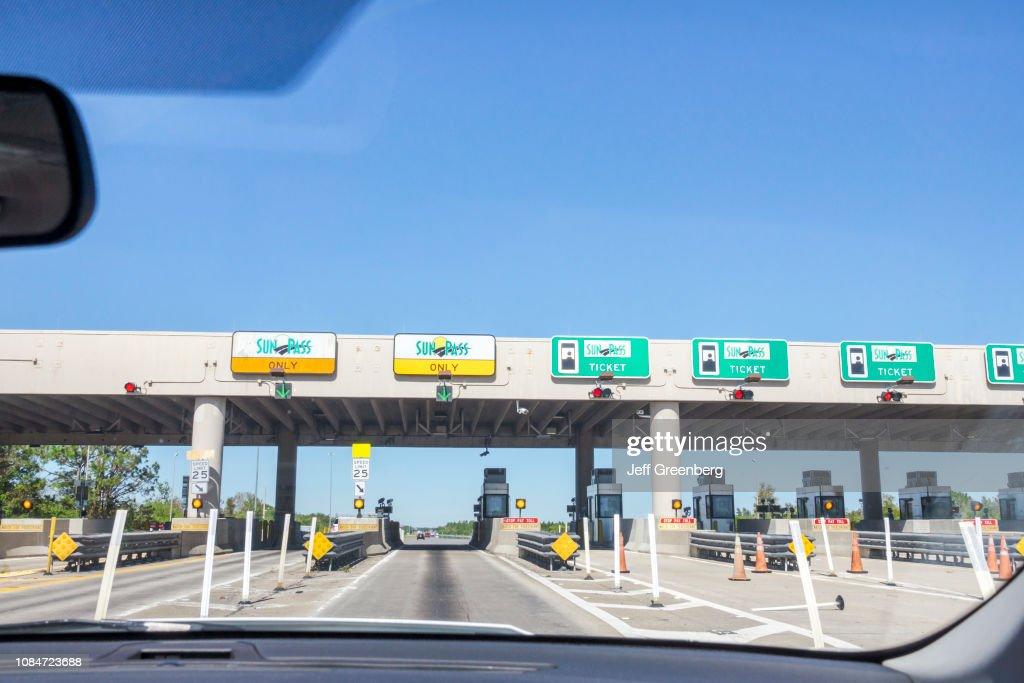 Ft Lauderdale, Florida Turnpike, SunPass prepaid electronic toll