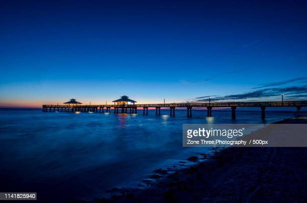 ft myers sunset - fort myers stock pictures, royalty-free photos & images