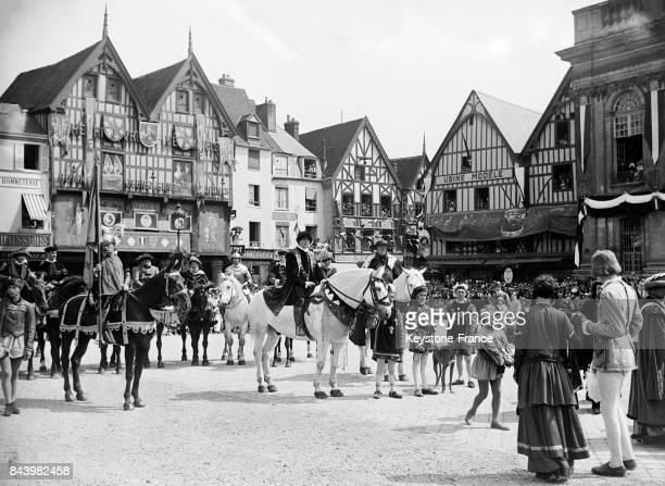 Fête de Jeanne Hachette à Beauvais France en 1932
