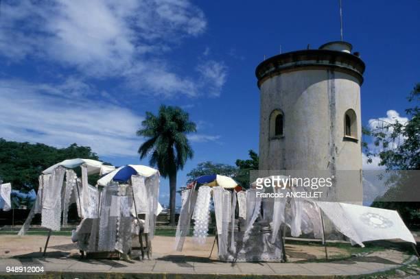 Fête de l'abolition de l'esclavage à Salvador de Bahia au Brésil en mai 1988
