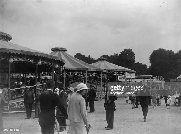 Fête foraine à Paris France en 1934