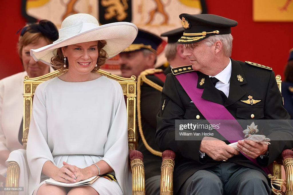 The Royal Family attends the military parade for National day : News Photo